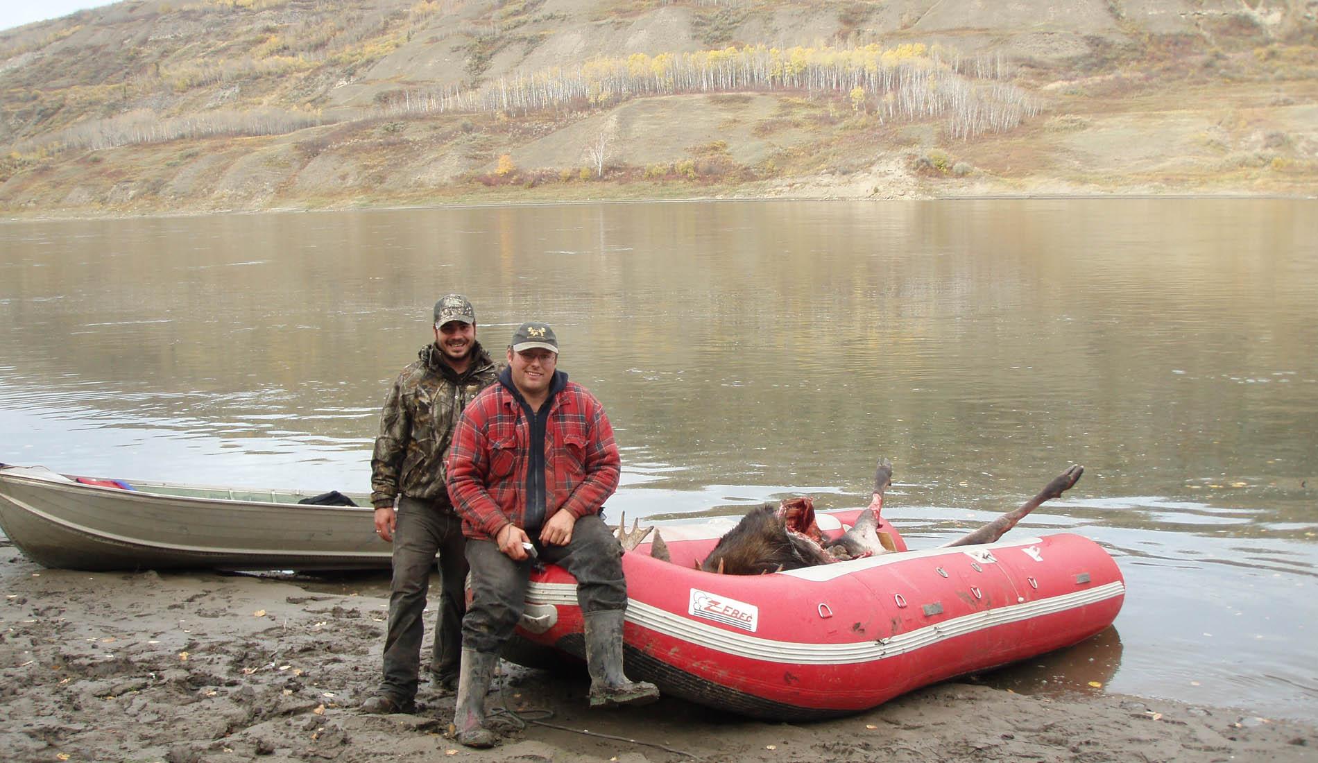 canada moose hunts