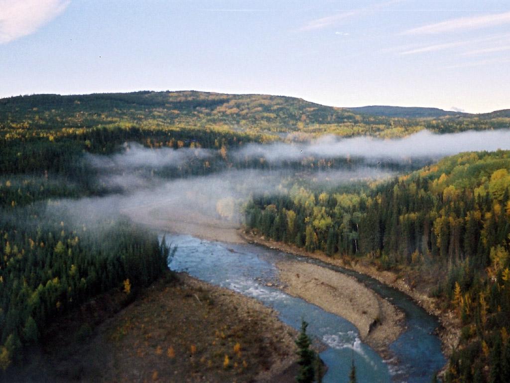 Hunting Camp Alberta Canada