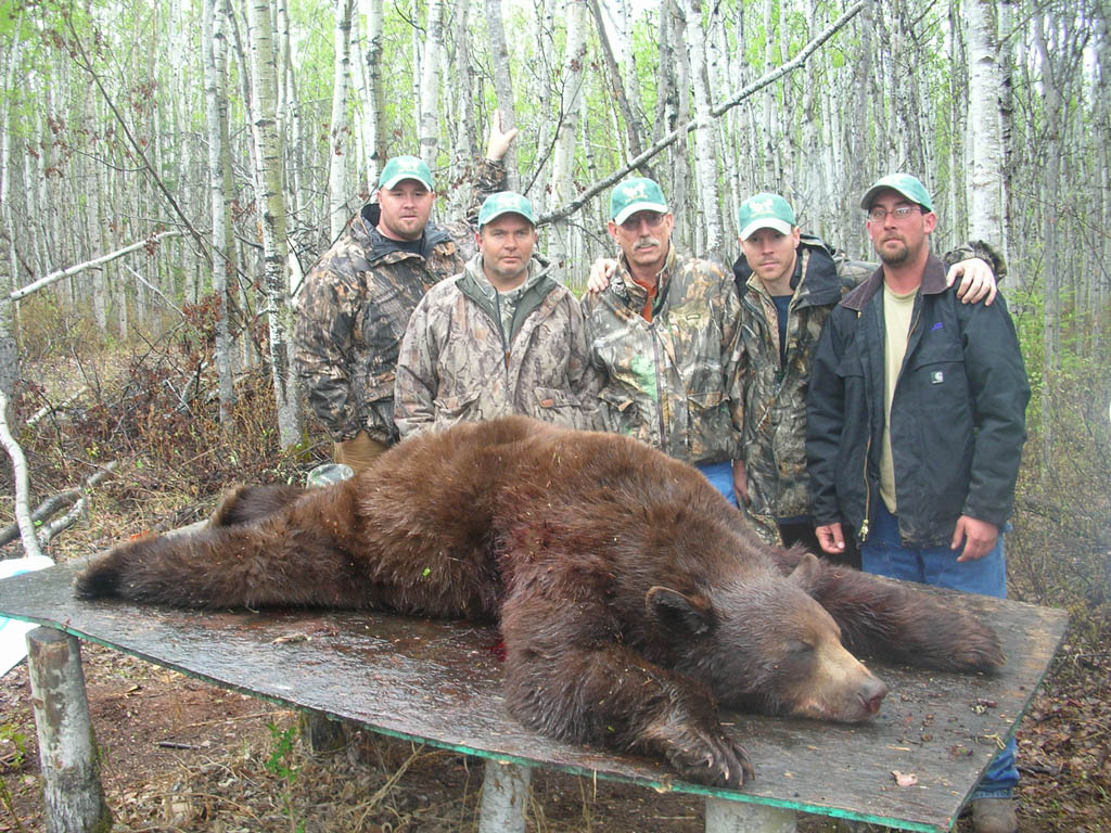 canada bear hunting outfitters