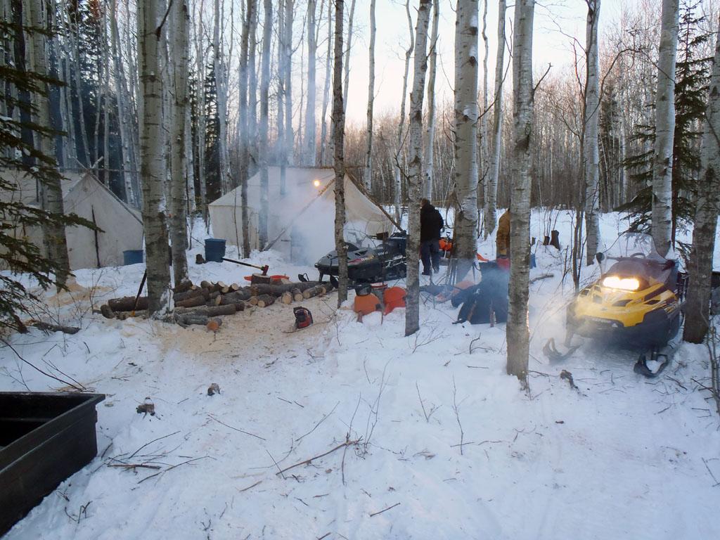 alberta canada hunting camp